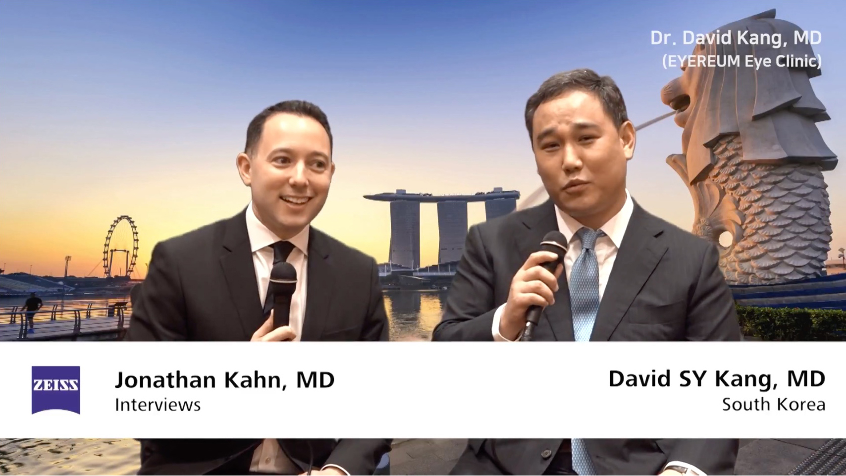 [2017 ZEISS] Dr. David Kang, MD - SMILE