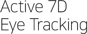 Active 7D Eye Tracking